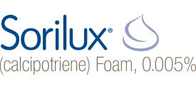 Sorilux calcipotriene foam, 0.005 percent